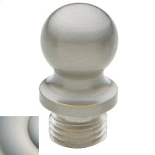 Satin Nickel with Lifetime Finish Ball Finial