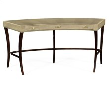 Art Deco Curved Desk for Drawers