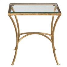 Allegra Side Table, GLASS, SIDE