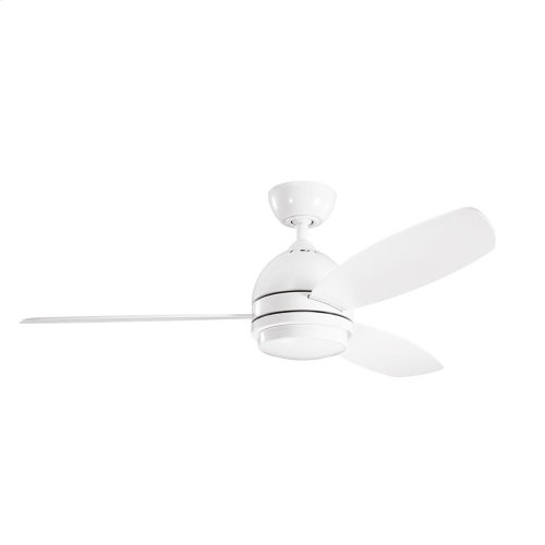 Vassar Collection 52 Inch Vassar LED Fan WHT