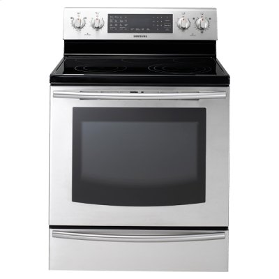 New 5.9 cu. ft. Large Capacity Electric Range (Stainless Steel) Product Image