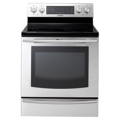 New 5.9 cu. ft. Large Capacity Electric Range (Stainless Steel)
