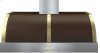 Hood DECO 48'' Brown matte, Gold 1 power blower, electronic buttons control, baffle filters