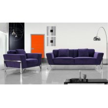 Divani Casa Vogue - Modern Fabric Sofa Set