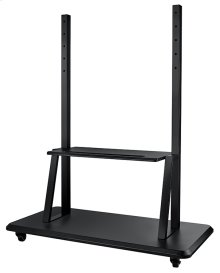 Mobile cart and stand with easy installation