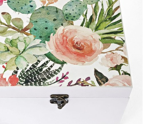 Gardenia Boxes - Set of 2