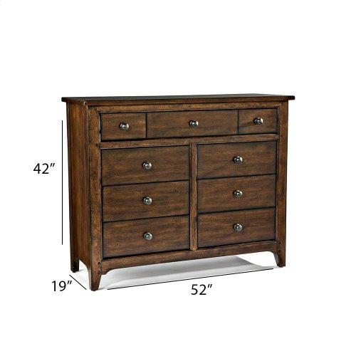Bedroom - Jackson 9 Drawer Chesser