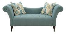 Emerald Home Lucille Settee W/2 Accent Pillows Blue U3803-55-04
