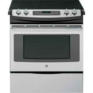 """GEGE(R) 30"""" Slide-In Front Control Electric Convection Range"""