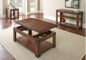 """Arusha End Table 24""""x24""""x24"""""""