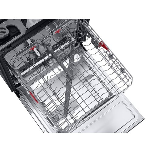 Linear Wash 39dBA Dishwasher in Black Stainless Steel
