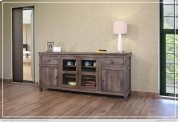 "80"" TV Stand w/2 Drawers, 2 doors, 2 glass doors, 2 shelves Product Image"