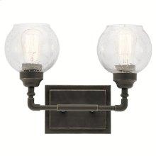 Niles 2 Light Vanity Light Olde Bronze®