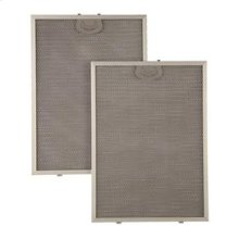 """Aluminum Replacement Grease Filter with Antimicrobial Protection for 30"""" QP1 Series"""