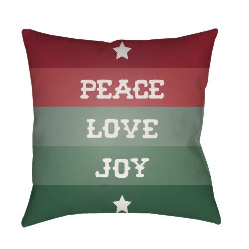 """Peace Love Joy HDY-076 18"""" x 18"""""""
