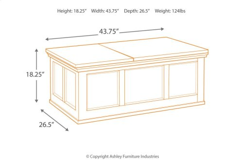 Flynnter Lift Top Cocktail Table