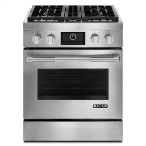 "Jenn-AirPro-Style(R) 30"" Dual-Fuel Range with MultiMode(R) Convection"