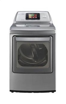 7.3 cu. ft. Ultra Large Capacity SteamDryer with Smart ThinQ Technology (Electric)
