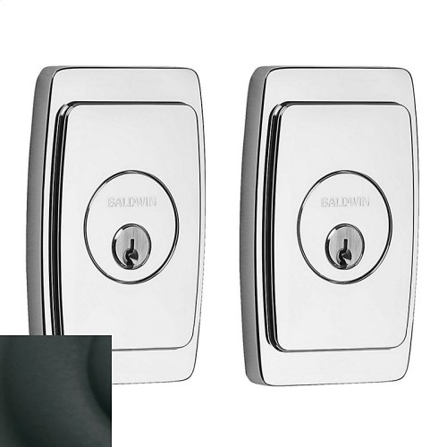 Satin Black Palm Springs Deadbolt