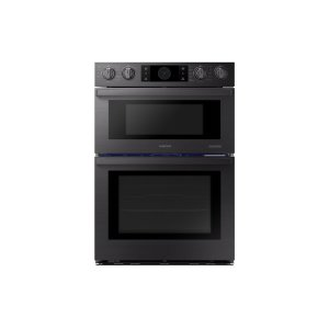 "Samsung30"" Flex Duo™ Chef Collection Microwave Combination Wall Oven in Matte Black Stainless Steel"