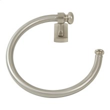 Legacy Bath Towel Ring - Brushed Nickel