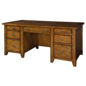 "Cross Country 66"" Executive Desk"