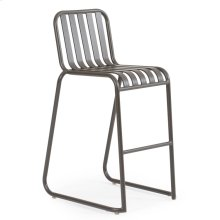 0145 Stackable Bar Stool (Charcoal)