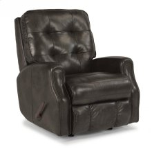Devon Leather Recliner without Nailhead Trim