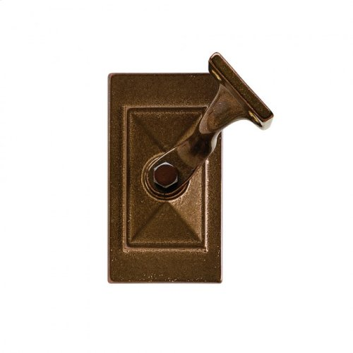 Mack Handrail Bracket Silicon Bronze Rust