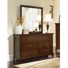 Tatiana Square Dresser Mirror