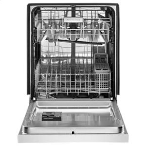 KitchenAid® 46 DBA Dishwasher with ProWash™, Front Control - White