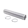 Smart Choice 8' Long 4'' Diameter Semi Rigid Dryer Vent Installation Kit With Elbow