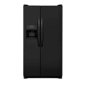 25.5 Cu. Ft. Side-by-Side Refrigerator - EBONY BLACK