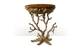 Gilt Grotto Accent Table