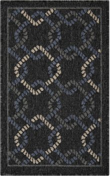 Caribbean Crb16 Charcoal Rectangle Rug 1'9'' X 2'9''