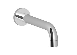 Tub spout for wall-mounted installation - chrome