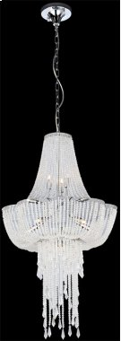 Chandeliers, Chrome/crystals, Type Jcd/g9 40wx9 Product Image