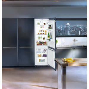 "Liebherr24"" Integrated fridge-freezer combination with BioCool and NoFrost"