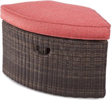 Tangier Wedge Ottoman