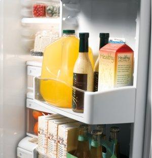 Floor Display - GE Profile™ 24.6 Cu. Ft. Side-by-Side Refrigerator
