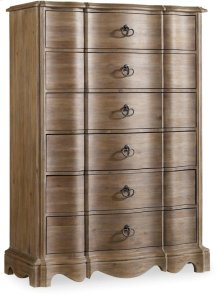 Corsica Six Drawer Chest