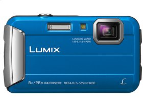 LUMIX Active Lifestyle Tough Camera DMC-TS30A - Blue
