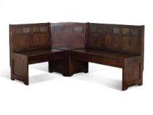 Santa Fe Bench/ Long & Corner/ Back Wood Seat