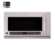 LSMH207ST    LG Studio - 2.0 cu. ft. Over the Range Microwave Oven
