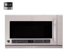 LSMH207ST    LG Studio - 2.0 cu. ft. Over the Range Microwave Oven