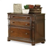 Bristol Court Lateral File Cabinet Cognac Cherry finish Product Image