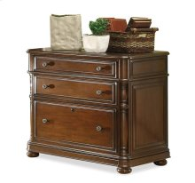 Bristol Court Lateral File Cabinet Cognac Cherry finish