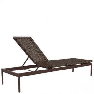 "Cabana Club Woven 15"" Armless Chaise Lounge"