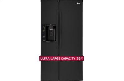 26 cu. ft. Ultra Capacity Side-By-Side Refrigerator Product Image
