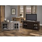 """60"""" Weathered Gray Reclaimed Console Product Image"""